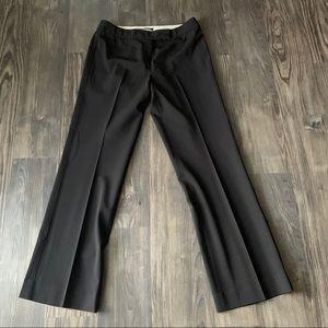 Elie Tahari Brown Tuxedo Style Trouser Pants